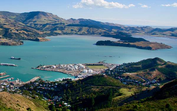 Crystal Ocean Cruises-Lyttelton (Christchurch), New Zealand