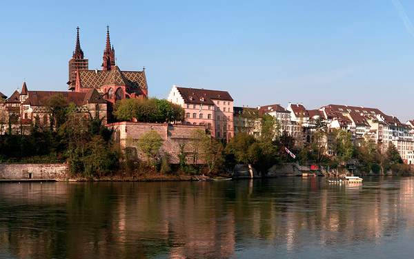 Uniworld River Cruises-Basel, Switzerland