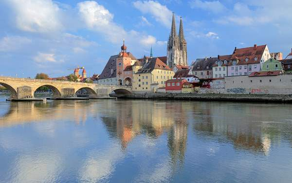Crystal River Cruises-Regensburg, Germany