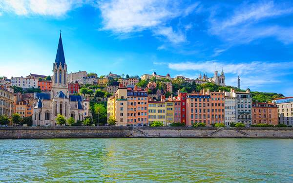 Viking River Cruises-Lyon, France