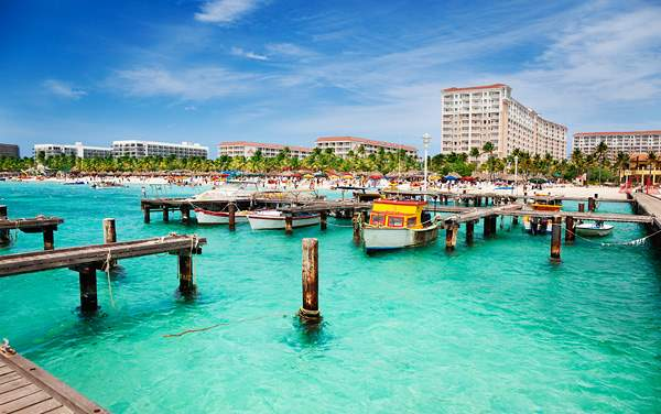 Windstar Cruises-Port Of Oranjestad, Aruba, Caribbean