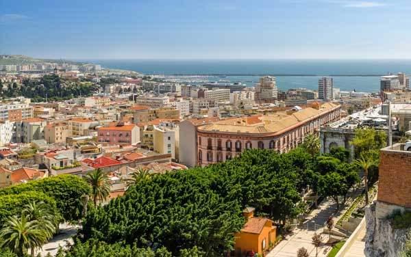 Msc Cruises-Cagliari, Sardinia, Italy