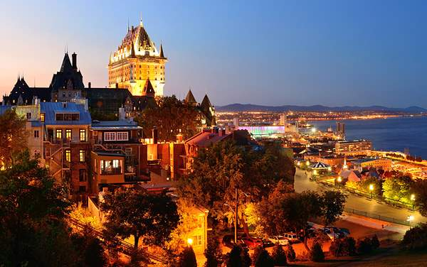 Crystal Ocean Cruises-Quebec City, Quebec