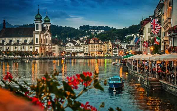 Avalon Waterways-Lucerne, Switzerland