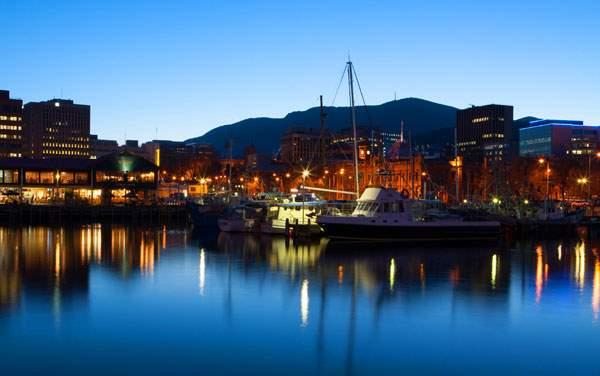 Crystal Cruises-Hobart, Tasmania, Australia
