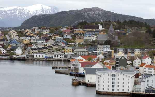 Silversea Cruises-Kristiansund, Norway