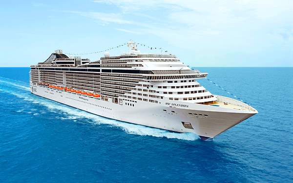MSC Cruises-Msc Splendida