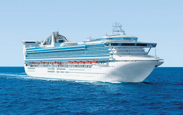 Princess Cruises-Golden Princess
