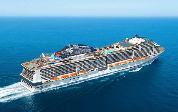 Msc Cruises-Msc Meraviglia