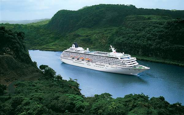 Crystal Cruises-Panama Canal