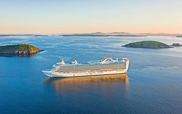 Princess Cruises-Canada / New England