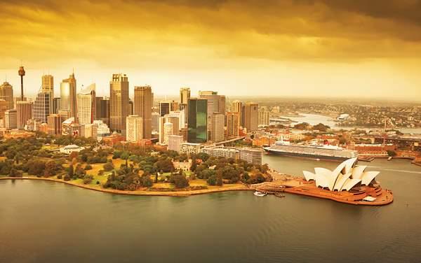 Cunard-Australia/New Zealand
