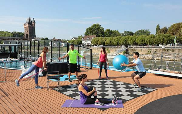AmaWaterways-Spa & Fitness