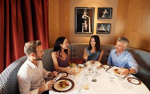 Cunard-Dining