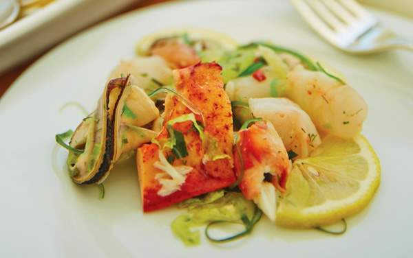 Seabourn Cruise Line-Dining