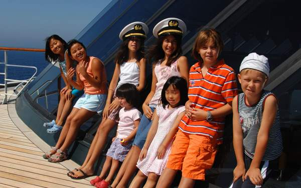 Crystal Ocean Cruises-Youth Programs