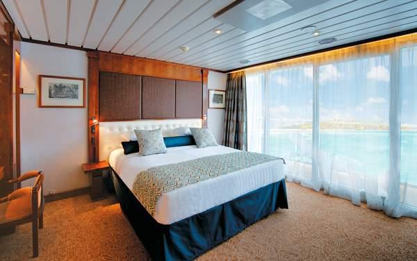 Paul Gauguin Cruises-Staterooms