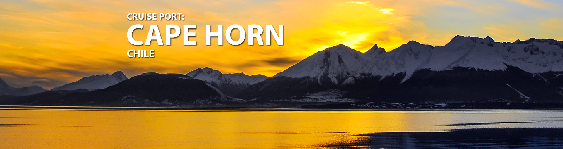 Cruises to Cape Horn, Chile