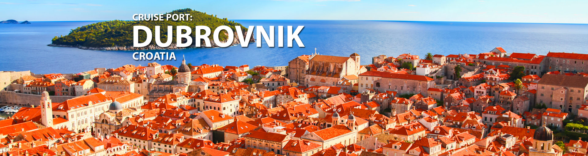 Cruises to Dubrovnik, Croatia