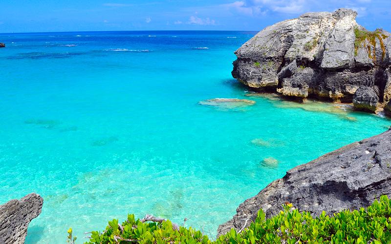 Rocky Bermuda Coastline Royal Caribbean
