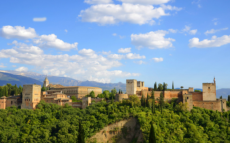The Alhambra Palace in Spain Royal Caribbean