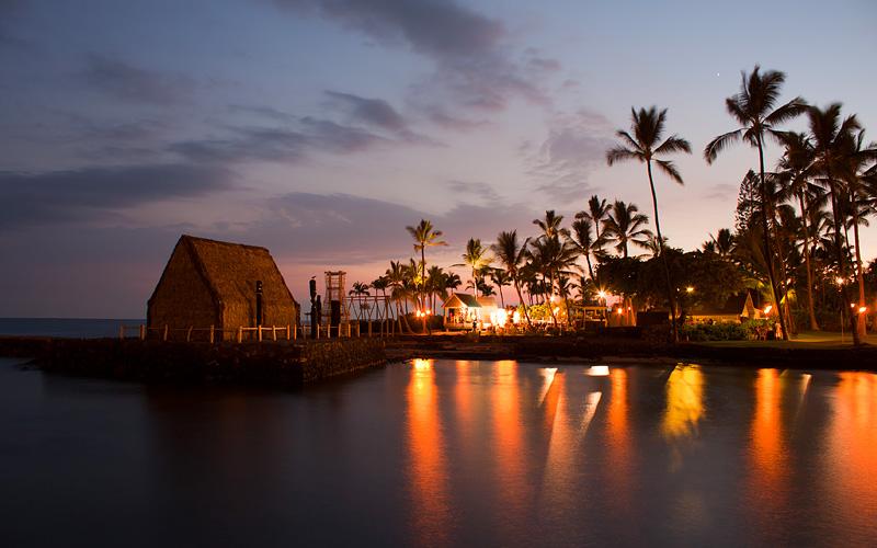 Evening luau on Big Island Hawaii Royal Caribbean