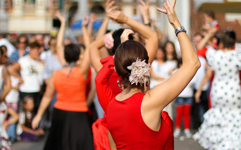 Flamenco Dancers in Cadiz, Spain Royal Caribbean