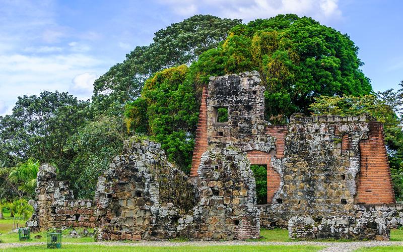 Viejo Ruins Panama Canal Royal Caribbean