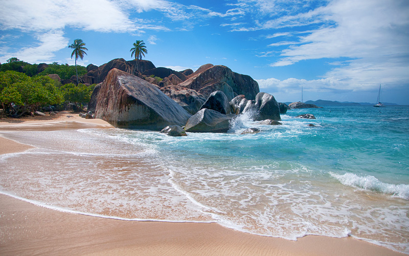 The Baths Landmark in Virgin Gorda, Tortola Azamar