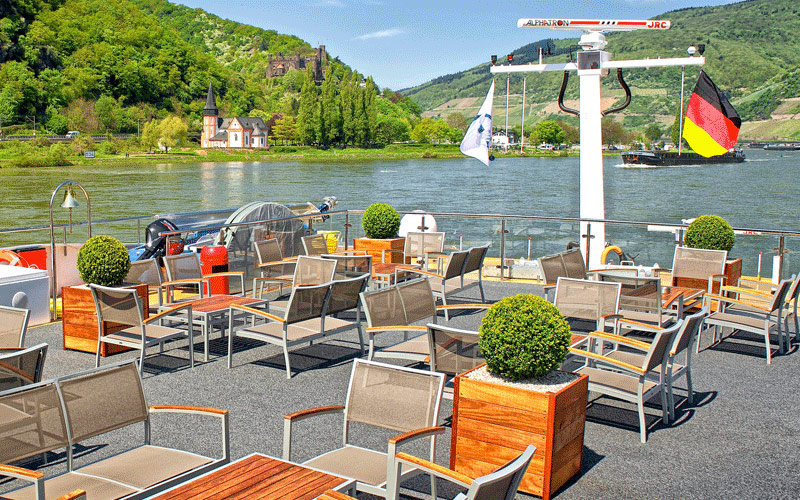 Avalon Waterways Avalon Expression sky deck