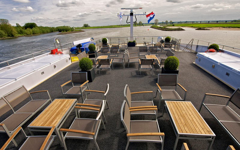Avalon Waterways Avalon Vista sky deck