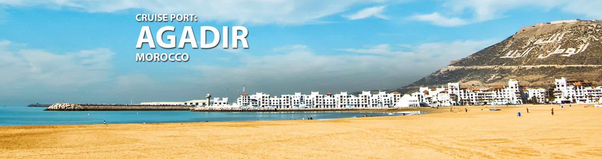 Cruises to Agadir, Morocco