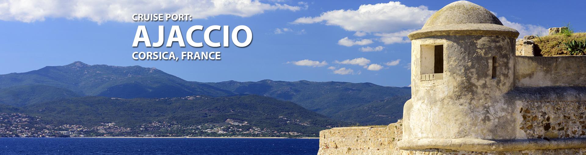 Cruises to Ajaccio, Corsica, France