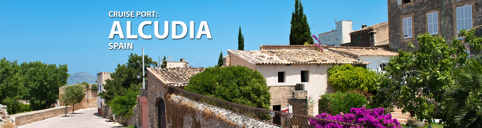 Cruises to Alcudia, Spain