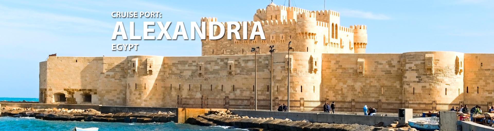 Cruises to Alexandria, Egypt