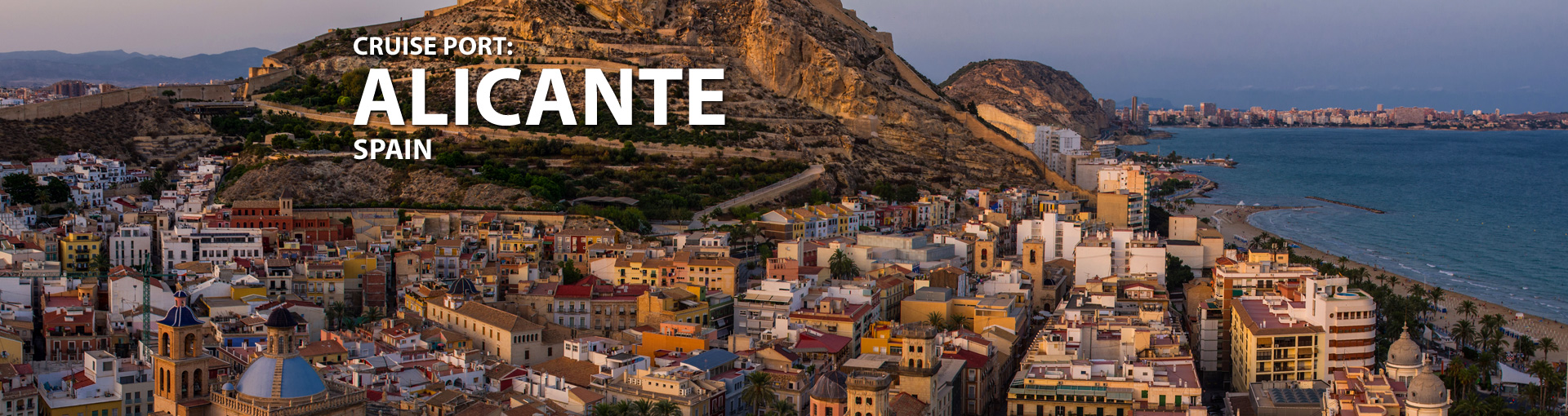 Cruise Port:Alicante, Spain