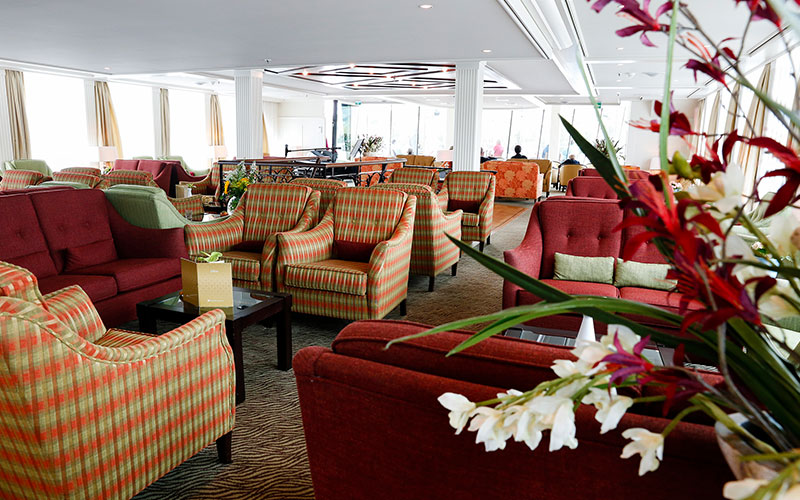Main Lounge on the AmaCello