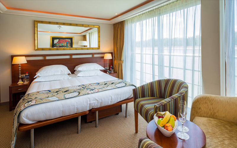 Suite onboard the AmaDante