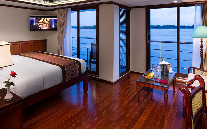 A junior suite on the AmaDara