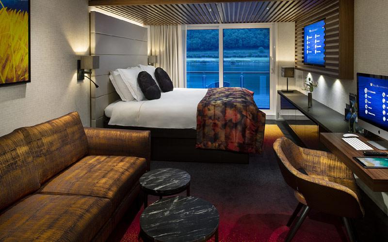 Balcony Suite aboard AmaMagna