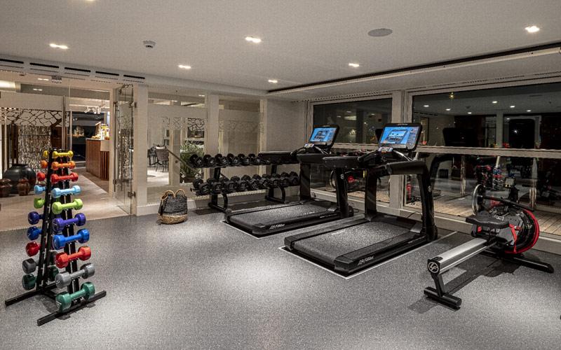 Fitness Center aboard AmaMagna