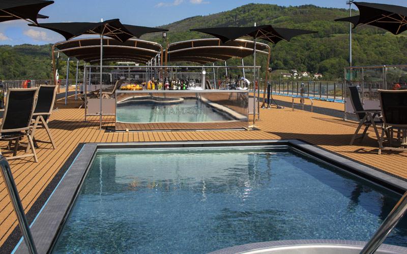 Sun Deck Pool aboard AmaMagna