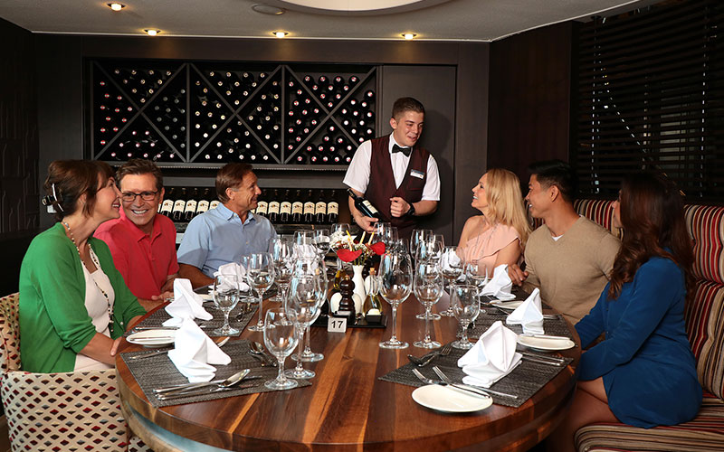 A tasting in AmaPrima