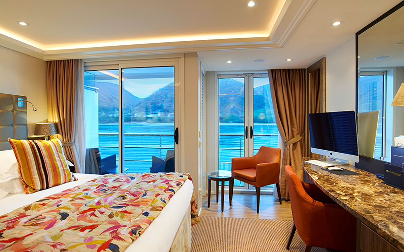 Stateroom on the AmaSerena