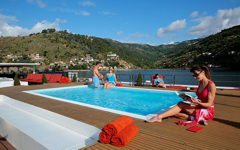 Sun Deck pool on the AmaVida