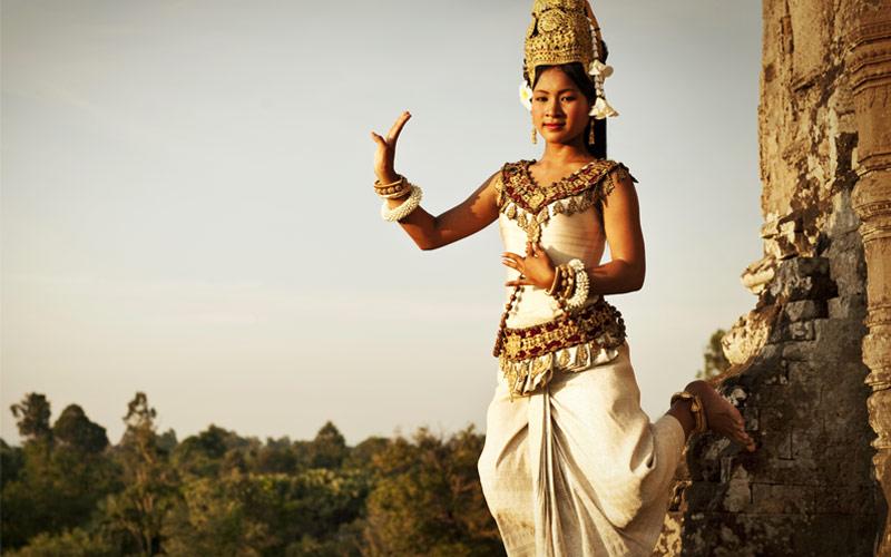 Aspara dancer at Angor Wat Cambodia