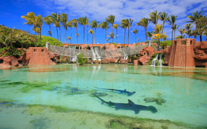 Atlantis Hotel on Paradise Island in Nassau Bahama