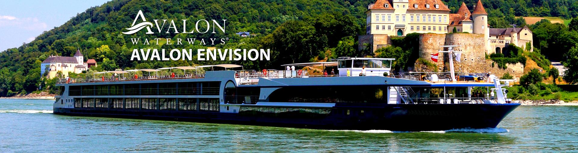 Avalon Envision Cruise Ship Banner