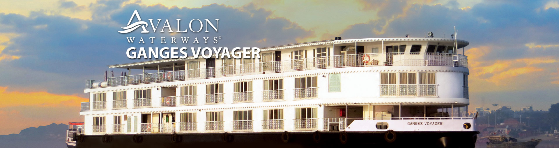 Avalon Waterways Ganges Voyager River Ship