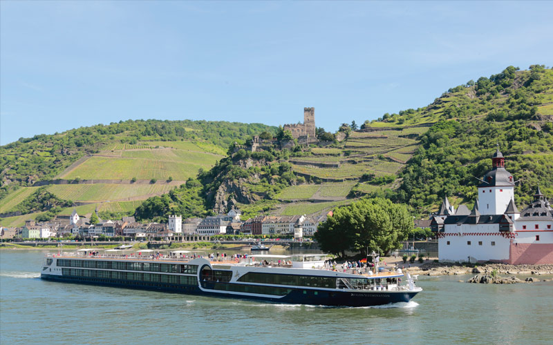 Avalon Illumination sailing the Romantic Rhine